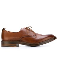 Buttero Classic Derby Shoes Brown