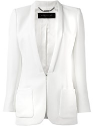 Barbara Bui Shawl Lapel Blazer White