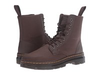 Dr. Martens Combs 8 Eye Boot Dark Brown 12Oz. Waxy Canvas Kanga Lace Up Boots