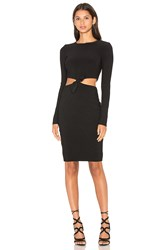 Becandbridge Lucienne Long Sleeve Dress Black