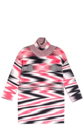 Missoni Space Dye Tunic Top Pink