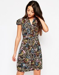 Emily And Fin Emily And Fin Elsa Dress In Woodland Print Multi
