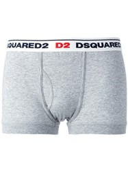 Dsquared2 Logo Boxers Grey