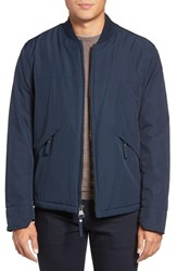 Marc New York Men's Dalton City Rain Bomber Jacket With Faux Shearling Lining Ink