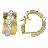 Torrini Nancy 18K Yellow Gold And Diamond Earrings