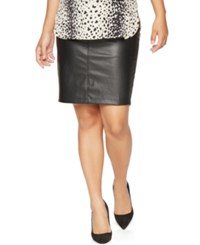 A Pea In The Pod Maternity Faux Leather Pencil Skirt