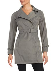 French Connection Belted Trench Coat Grey