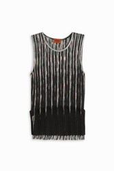 Missoni Women S Ruffle Pleated Top Boutique1 Black