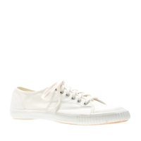 J.Crew Women's Tretorn Canvas T56 Sneakers Ivory