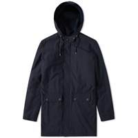 A.P.C. Fighter Parka Blue
