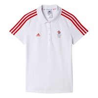 Adidas Team Gb Women's Polo Shirt White
