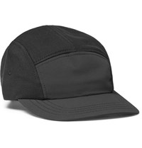 Reigning Champ Panelled Shell And Cotton Baseball Cap Black