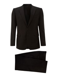 New And Lingwood Morris Charcoal Stripe Suit