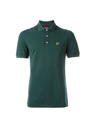 Isaia Classic Polo Shirt Green