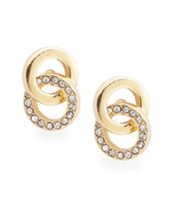 Kate Spade Infinity And Beyond Knotted Stud Earrings Gold
