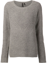 Joe's Jeans Ribbed Sweater Grey