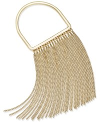 Thalia Sodi Gold Tone Metal Fringe Bracelet Only At Macy's