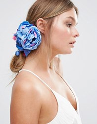 Johnny Loves Rosie Mila Corsage Hair Clip Blue