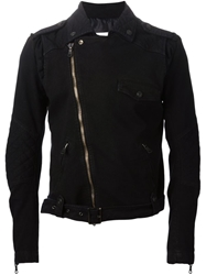 Pierre Balmain Biker Jacket Blue