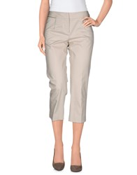 Guess By Marciano Trousers 3 4 Length Trousers Women Beige