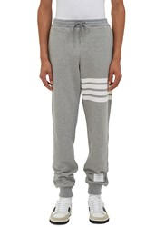 Thom Browne 4 Bar Jersey Track Pants Grey