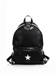 Givenchy Small Star Leather Backpack