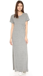 Current Elliott The Maxi Tee Dress Heather Grey