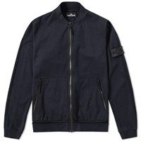 Stone Island Shadow Project Jersey R 3L Zip Bomber Blue