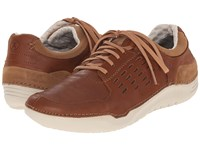 Hush Puppies Hinton Method Tan Leather Men's Lace Up Casual Shoes