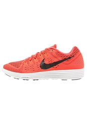 Nike Performance Lunar Tempo Cushioned Running Shoes Bright Crimson Black Summit White Red