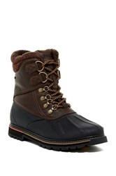 Rockport Trailbreaker Faux Fur Lined Waterproof Boot Brown
