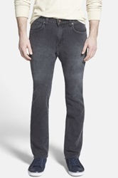Agave 'Superbank' Relaxed Straight Leg Knit Jeans Gray