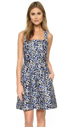 Mother Of Pearl Alice Dress Blue Dahlia