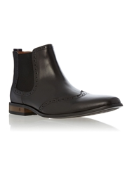 Peter Werth Battishill Chelsea Boots Black