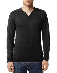 Buffalo David Bitton Walleys Long Sleeved Pullover Black