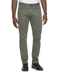 Calvin Klein Jeans Tapered Chino Pants Army Dust