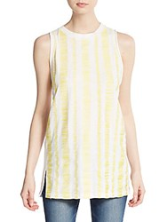 3.1 Phillip Lim Embroidered Cotton Tunic Yellow