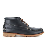 Bass Weejuns G.H. Bass Men's Ranger Leather Moc Montgomery Mid Boots Navy