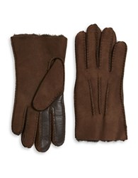 Ugg Sheepskin Smart Glove Chocolate