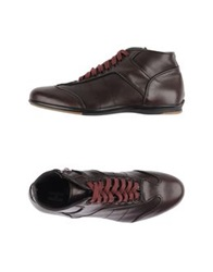 Alexander Hotto High Tops And Trainers Maroon
