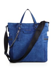Jimmy Choo Dukes Tote Bag Navy