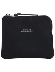 Saturdays Surf Nyc Cash Half Zip Wallet