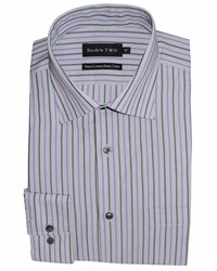 Double Two Formal Shirt Grey