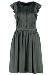 Banana Republic Summer Dress Vintage Grey Anthracite
