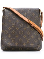 Louis Vuitton Vintage 'Musette' Monogram Shoulder Bag Brown