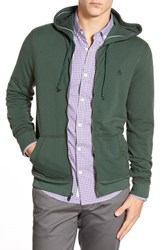 Men's Original Penguin 'P55' Zip Hoodie Sycamore