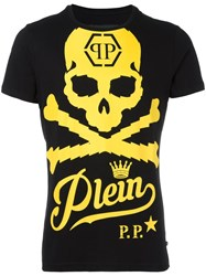 Philipp Plein Airline T Shirt Black