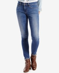 Levi's 711 Skinny Jeans Painted Clouds