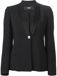 Versus Shawl Collar Blazer Black