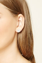 Forever 21 Oversized Cubic Zirconia Studs